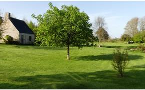 Wallpaper france, landscape, Normandie, manche