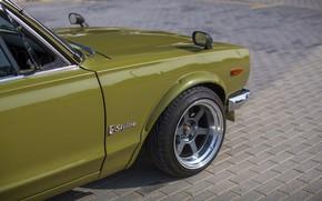 Picture Auto, Disk, Machine, Wheel, Nissan, Nissan, Car, 2000, Skyline, Nissan Skyline, 2000GT, Japanese, 2000GT-R, 2000 …