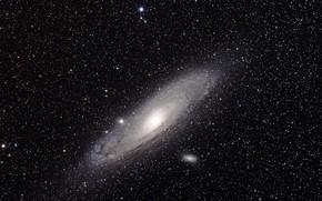 Picture space, stars, Nebula, M31