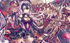 Picture armor, anime, asian, shield, manga, bones, oriental, asiatic, oppai, japonese, Fate Series