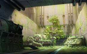 Picture nature, plants, art