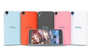 Picture girl, logo, blonde, smartphone, technology, cell phone, high tech, HTC Desire 820, HTC Desire