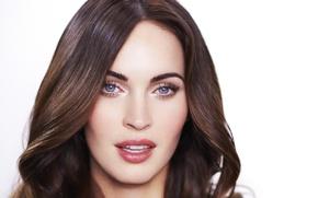 Picture look, Megan Fox, Megan Fox, portrait, makeup, actress, brunette, hair