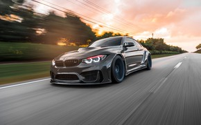 Picture BMW, Sunset, Evening, F82, Dynamic, Sight, Graphite, LED