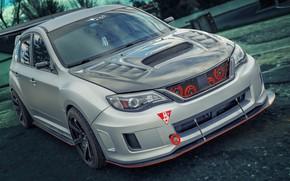Wallpaper Subaru, Impreza, WRX Hatchback