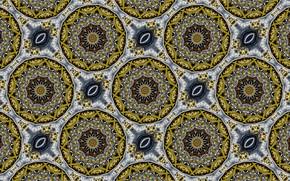 Picture surface, form, figure, kaleidoscope