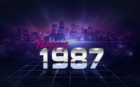 Picture Music, The city, Stars, Electronic, Happy, 1987, Synthpop, Darkwave, Synth, Retrowave, Synth-pop, Sinti, Synthwave, Synth …