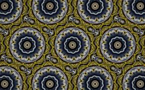 Wallpaper kaleidoscope, background, figure
