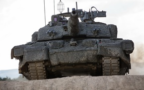 Wallpaper tank, Challenger 2, weapons