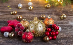 Picture tree, New Year, Christmas, happy, Christmas, balls, New Year, Merry Christmas, Xmas, decoration, Christmas balls