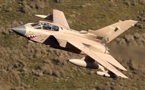 Picture flight, fighter, bomber, Panavia Tornado