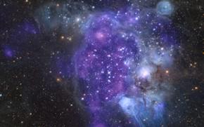 Picture oblast, Corpotare, interstellar space