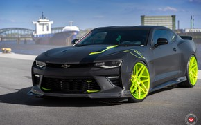Picture Chevrolet, Camaro, Forged, Vossen, Wheels, 2017, VPS, 315T