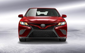 Picture Toyota, front view, 2018, Camry SE