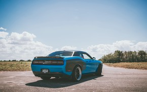 Picture road, auto, engine, car, Dodge, Dodge, Challenger, drives, road, monster, auto, SRT, Challenger, engine, slider, …