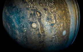 Picture space, clouds, Jupiter