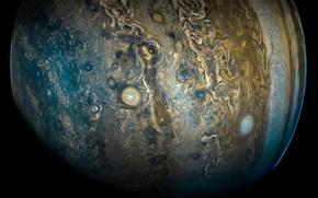 Wallpaper clouds, Jupiter, space