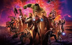 Wallpaper Black Widow, Robert Downey Jr., Black Panther, EXCLUSIVE, Falcon, Captain America, Chris Evans, Benedict Cumberbatch, ...