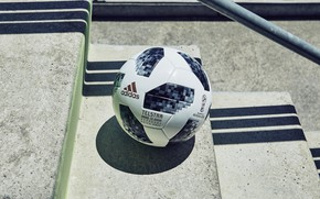 Picture The ball, Sport, Football, Adidas, Russia, Adidas, FIFA, FIFA, World Cup 2018, Adidas Telstar 18, …