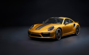 Picture car, Porsche, logo, Porsche 911 Turbo S, Porsche 911 Turbo S Exclusive Series