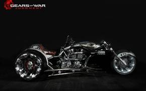 Picture sake, game, Chopper, Gears of War, California, San Diego, superbike, Gears of War: Judgment, motorbike, …