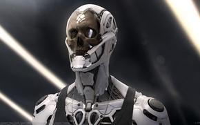 Picture robot, re-rendered, rockerbot