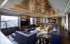 Picture the city, interior, megapolis, living room, Swissotel Nankai