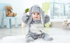 Picture baby, baby, suit