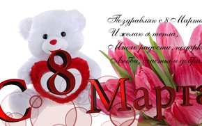 Picture flowers, picture, March 8, the Wallpapers, postcard, women's day, March 8, Wallpaper 1920x1080, congratulations to ...