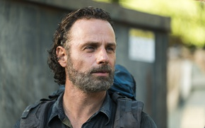 Picture face, The Walking Dead, Andrew Lincoln, Rick, Season 7