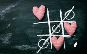 Picture hearts, Board, love, romantic, hearts, Mel
