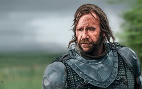 Picture art, Game of Thrones, Game of thrones, The Hound, Sandor Clegane