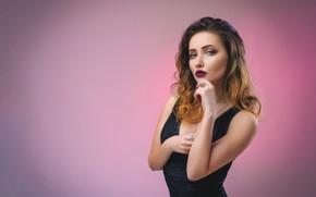 Wallpaper girl, sexy, model, Dmitry Medved, Ekaterina Waist