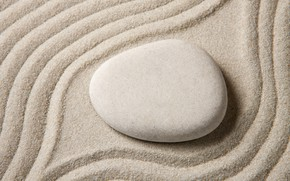 Wallpaper sand, stones, stone, sand, zen