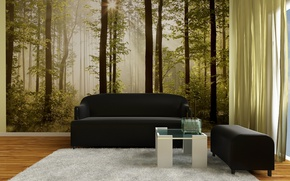 Picture room, interior, living room