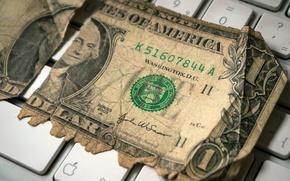Picture macro, money, Last Dollar