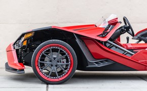 Picture beautiful, comfort, hi-tech, Polaris, Slingshot, technology, sporty, tricycle, 036