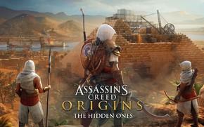 Wallpaper Assassins Creed Origins, Origins, assassin, Egypt, Biek