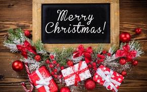 Wallpaper New Year, Christmas, christmas, balls, merry christmas, decoration, gifts, xmas