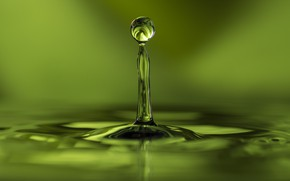 Picture water, background, drop