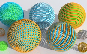 Wallpaper balls, colored, background