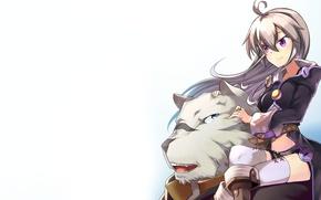 Picture tiger, anime, friends, strong, bishojo, mercenary, novel, light novel, Albus, Zero Kara Hajimeru Mahou No …
