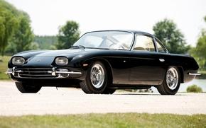 Picture Lamborghini, Black, 350 GT, 1964