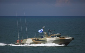 Picture boat, Raptor, sea, patrol, The black sea, anti-sabotage