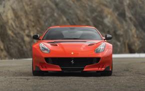 Picture Ferrari, supercar, front view, F12, 2017, TDF