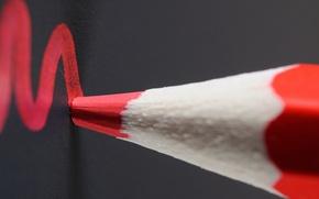 Picture macro, color, pencil