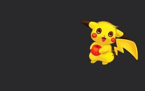 Picture minimalism, anime, art, Pikachu, pokemon, children's, Apple, Pokémon Gb, Michael Galapon, Old digital paintings and …