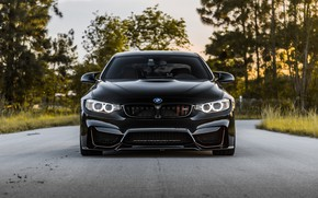Picture BMW, Front, Black, Face, Sight, LED, F83