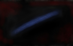 Picture dark, space, black, blue, painting, paint, mypaint