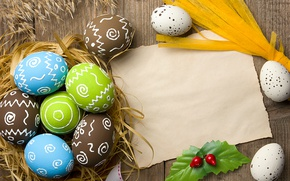 Wallpaper Easter, socket, happy, flowers, spring, Easter, eggs, decoration, the painted eggs